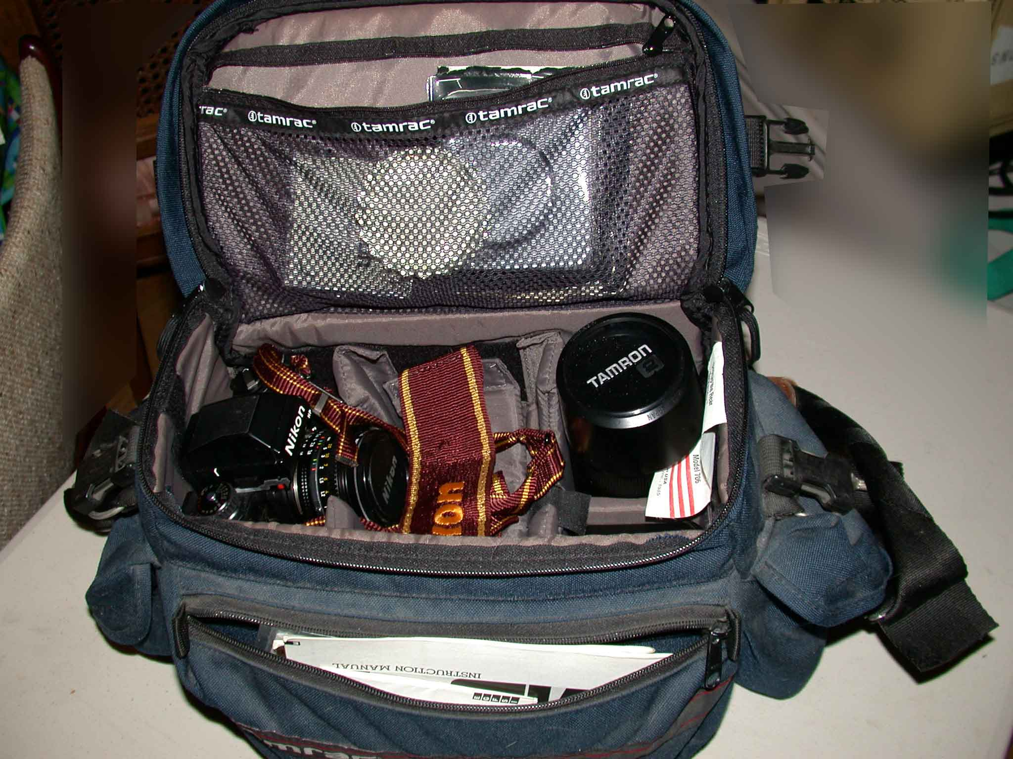 Camera Nikon Camera Bags wendys garage sale and detailed in the other pictures click a picture to see larger view i still have all manuals for camera motor drive lenses